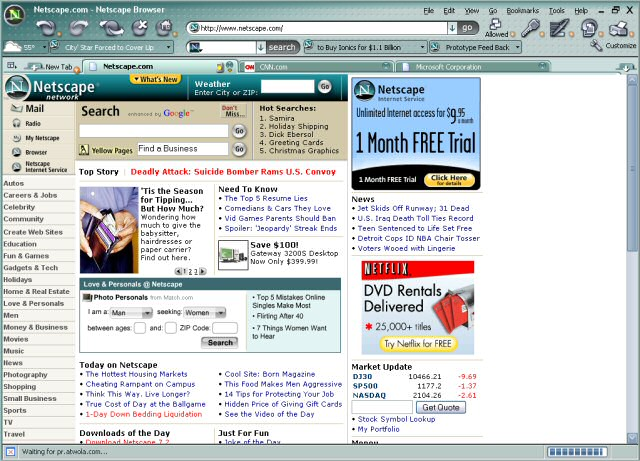 Netscape Browser = Firefox + IE + WTF? | Wolf's Lair